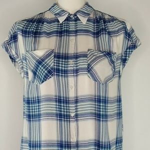 Lucky Brand Womens Top Shirt Blouse Size S